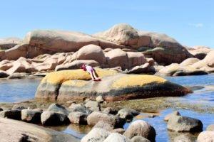 Wandern, Steine behüpfen, faulenzen, baden, repeat.