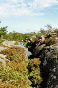 Das Hochplateau von Fjällbacka bietet eine der atemberaubendsten Aussichten über die Schären.
