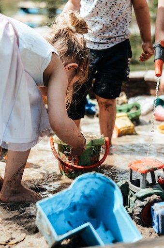 matschen im sand auch das ist homeschooling