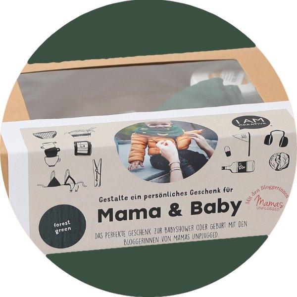 Ein tolles Geschenk-Set für Mama und Baby zum Selbergestalten